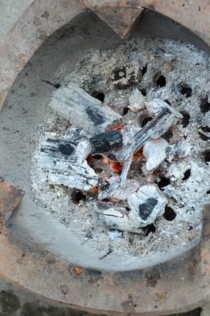 stove: clay stove
