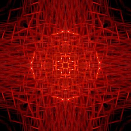 background pattern: art grunge red abstract pattern illustration background