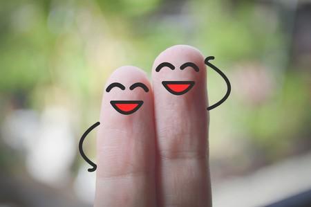 smile fingers