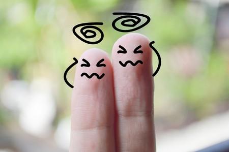verkleumde vingers