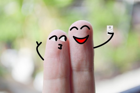 fingers: Selfie fingers