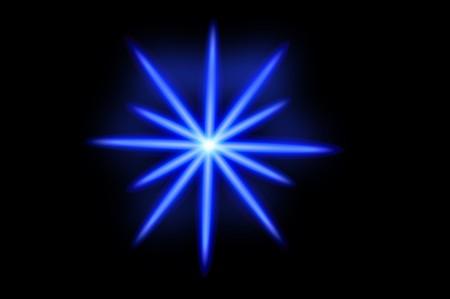 art blue light illustration background