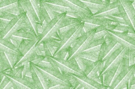 art green plumeria leaves pattern illustration background