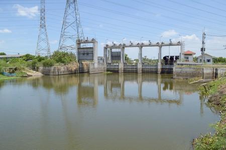 chachoengsao: public dam in country Chachoengsao Thailand