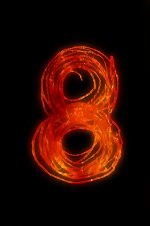 eight: eight fire number