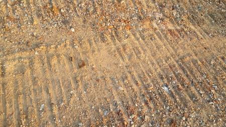 mud print: rough soil texture