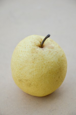 pyrus: close up Chinese pear fruit Stock Photo