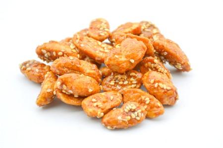 garbanzo bean: Chickpeas roasted food