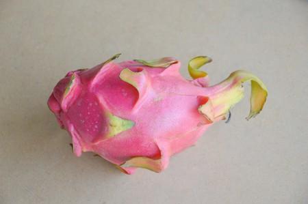 dragonfruit: dragonfruit on wood floor Stock Photo