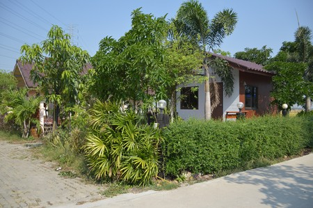 chachoengsao: CHACHOENGSAO, THAILAND, NOVEMBER 10 : small home in Khlong Preng resort at Chachoengsao Thailand on the 10 November, 2015
