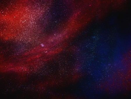 galaxy illustration background
