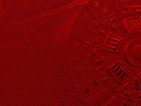 rugged: art grunge red abstract texture illustration background