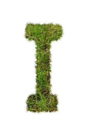 grass font: grass font - I Stock Photo
