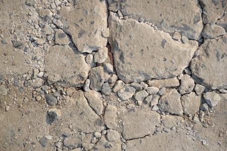crack: crack cement floor texture Stock Photo