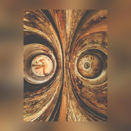 raged: art grunge brown abstract pattern background