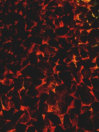 art fire lava pattern illustration background 版權商用圖片