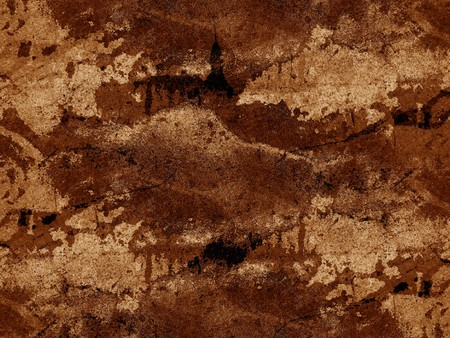 ragged: old grunge brown ragged abstract pattern illustration background Stock Photo