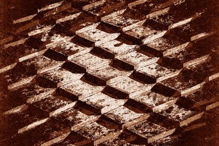 kunst grunge bruin abstracte patroon achtergrond Stockfoto