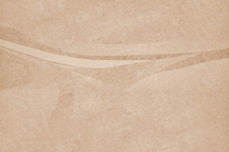 crease: art grunge brown paper abstract texture illustration background Stock Photo