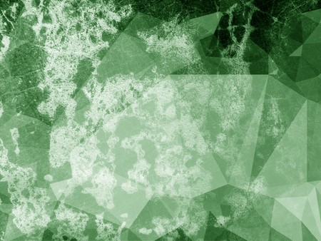 ragged: art grunge green ragged polygon pattern illustration background
