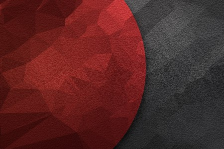 art red color polygon abstract pattern illustration background Imagens