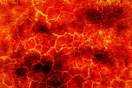 fire lava pattern illustration background Stock Photo