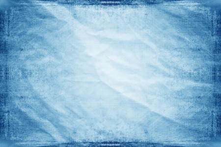 art grunge blue crease abstract pattern illustration background