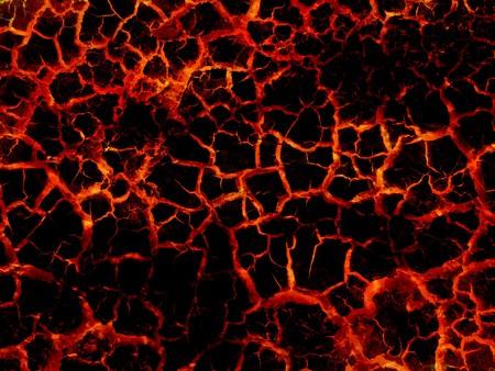 art brand lava abstracte patroon illustratie achtergrond Stockfoto