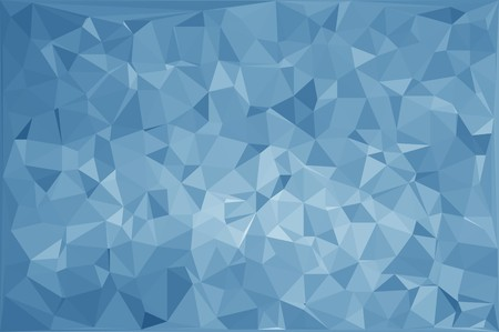 art blue polygon abstract pattern illustration background