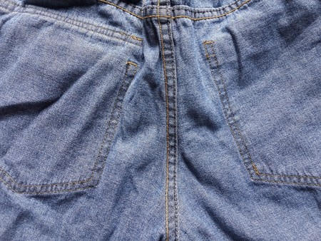seam: seam jeans texture Stock Photo