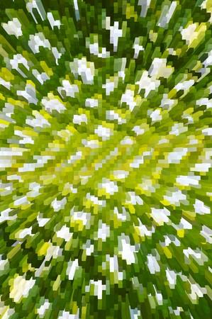 art green block abstract pattern illustration background