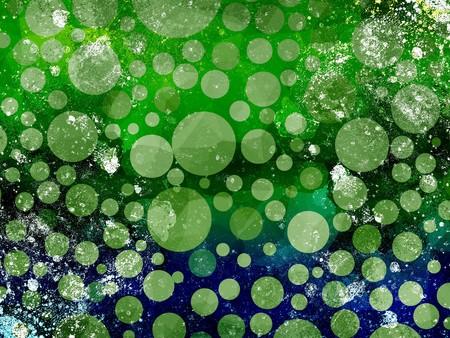 greem: art grunge ragged abstract pattern illustration background
