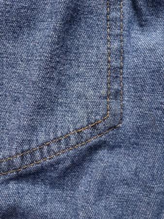 seam: seam jean texture Stock Photo