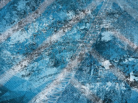 streaked: art grunge blue ragged abstract pattern illustration background Stock Photo