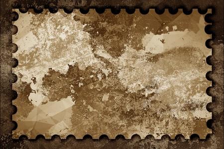 ragged: art grunge ragged stamp illustration background