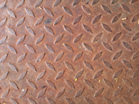 ironworks: old iron floor texture background