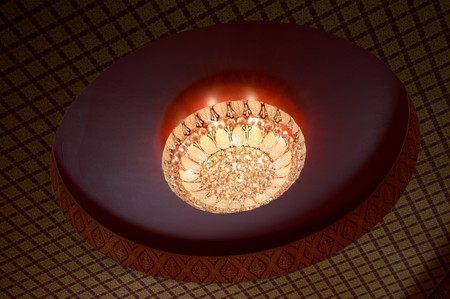 ceiling: ceiling lamp