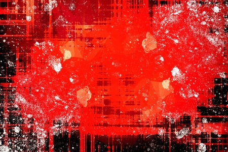 art grunge red ragged abstract pattern background