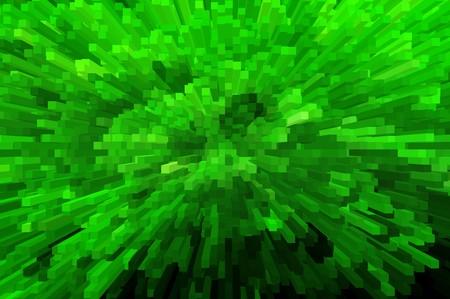 art green blocks abstract pattern illustration background