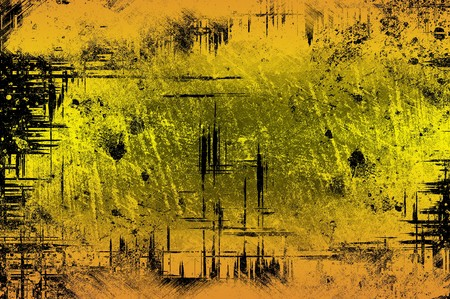 ragged: art grunge yellow ragged abstract pattern illustration background Stock Photo