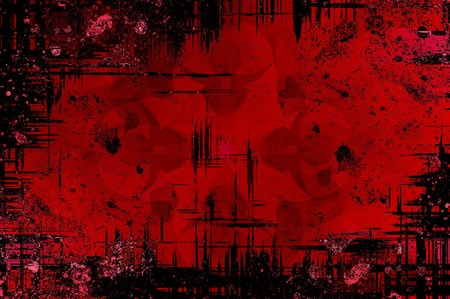 streaked: art grunge red ragged pattern illustration background Stock Photo