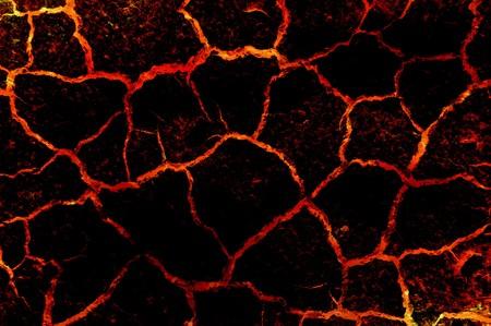 crack: art lava abstract pattern illustration background