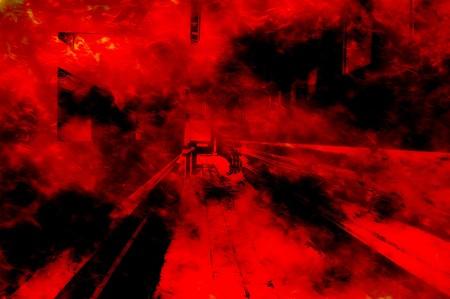 resplandor: arte fuego rojo modelo abstracto ilustración de fondo Foto de archivo
