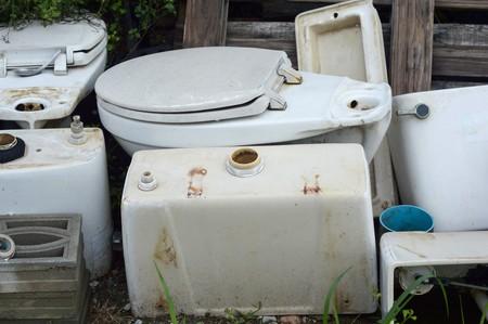 flush: old flush toilet