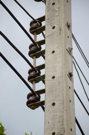 Electric pylon Фото со стока