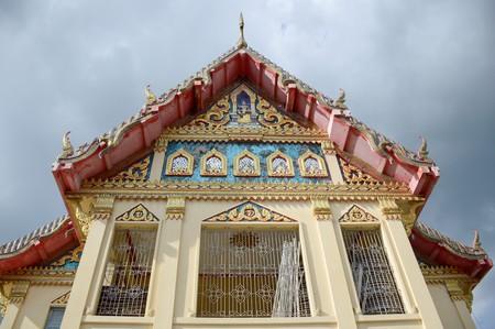 Wat Preng in Samut Prakarn Thailand Stock Photo - 63803809