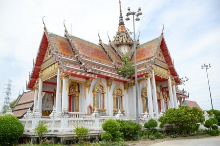 Wat Preng in Samut Prakarn Thailand Stock Photo - 63804053