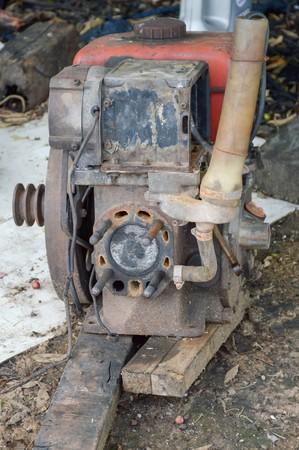 machine: old machine