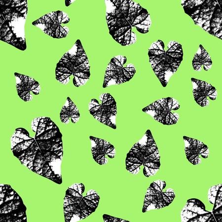 leaves seamless pattern background Stok Fotoğraf