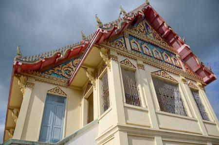 wat Preng temple in Samut Prakarn Thailand